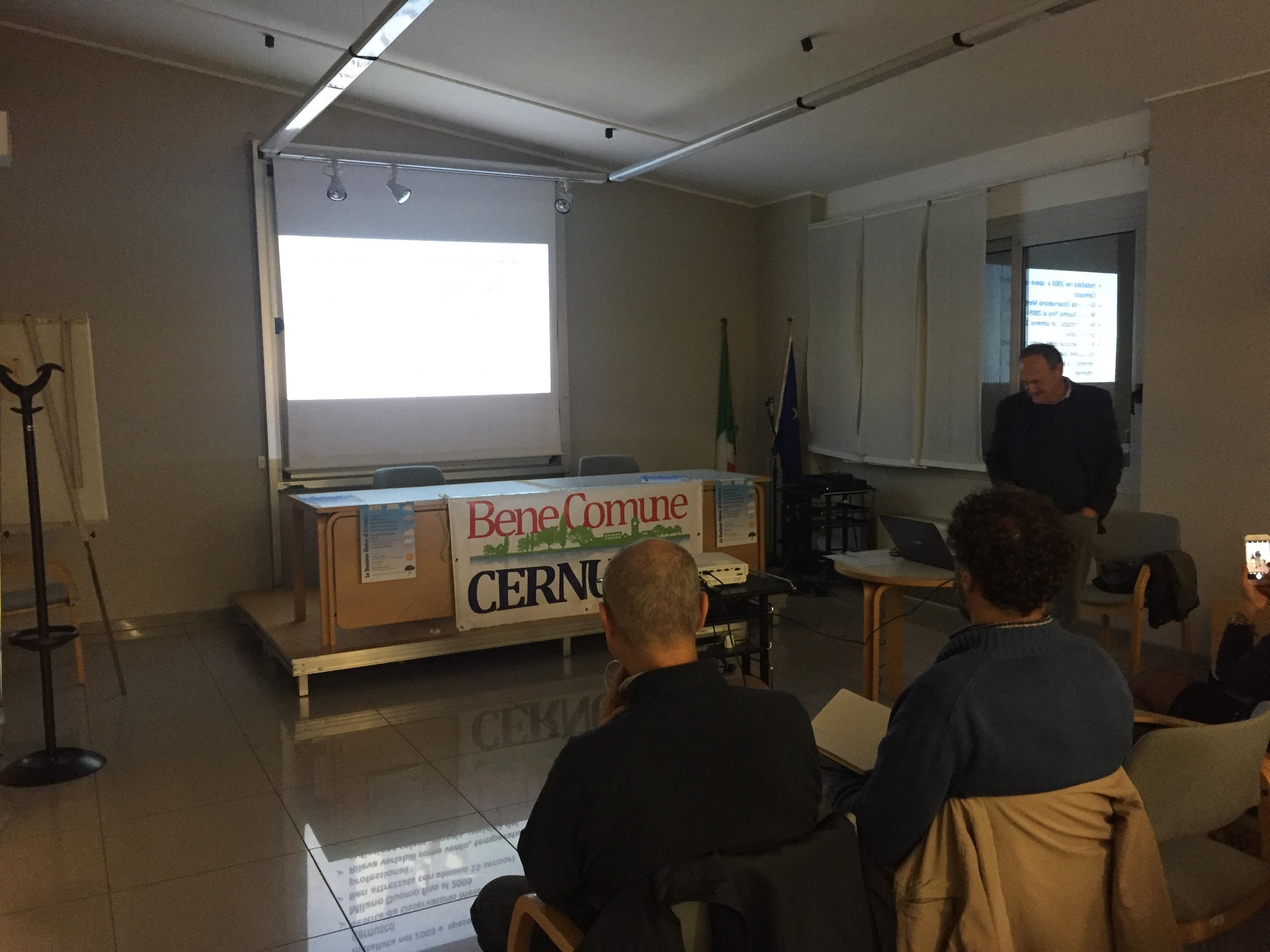 Presentazione del progetto a cura del meteorologo Paolo Bonelli