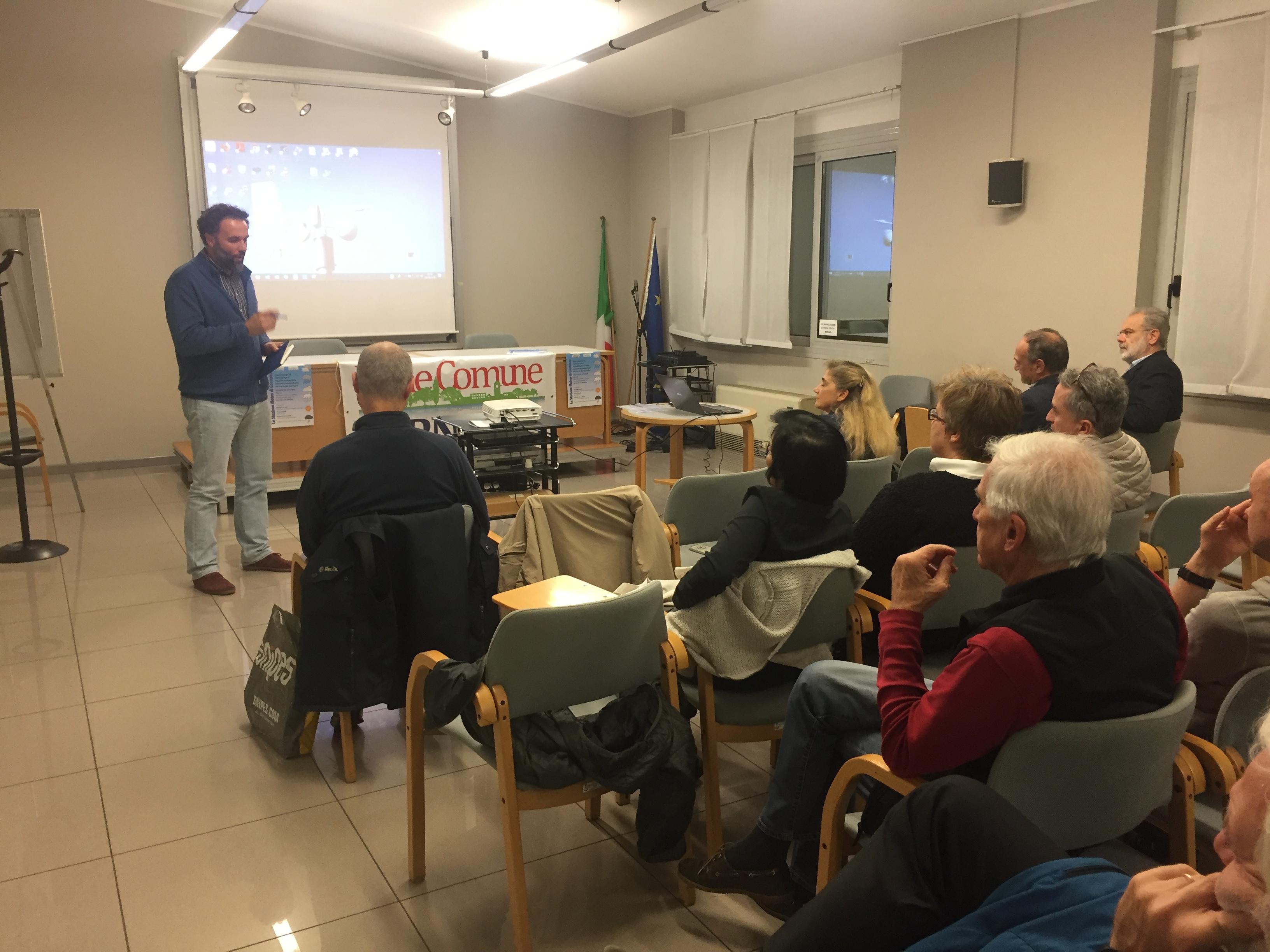 Intervento di Daniele Restelli, assessore delegato all'ecologia